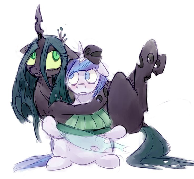 Shining Armor X Queen Chrysalis and Gleaming Shield X King ...