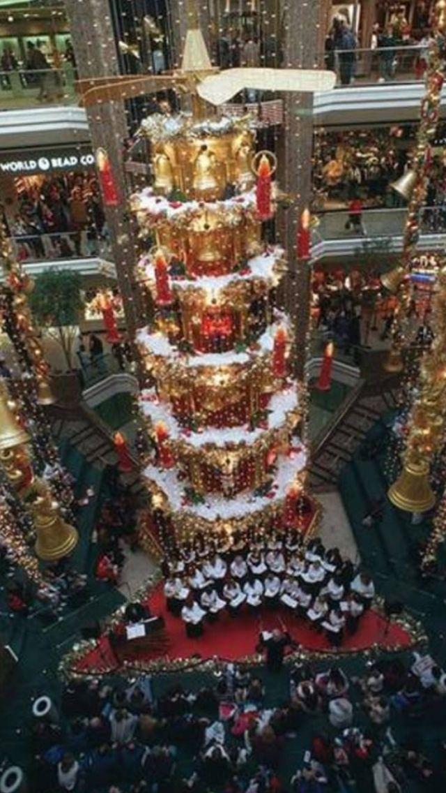 Christmas at City Center Mall - Columbus Ohio mid 90's