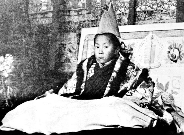 His life was changed forever when, at the age of three, Lhamo Thondup was identified by a search party of Buddhist officials as the reincarnation of the 13th Dalai Lama, the latest in a line that stretches back to 1391.
