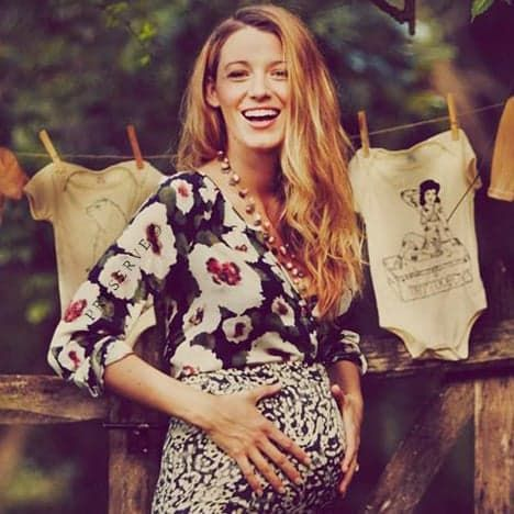 Pin for Later: Blake Lively Is a Glowing Mom-to-Be in Her New Baby Bump Pictures