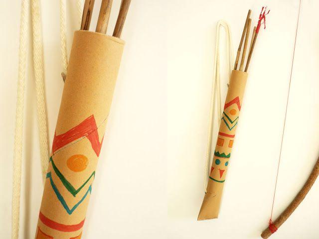 domestic candy: Pfeil und Bogen (quiver)