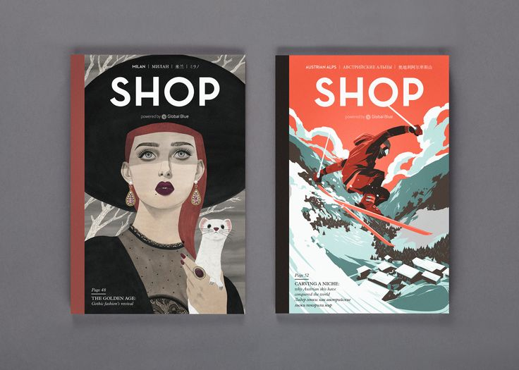 SHOP Magazine 2015 | Design by S-T