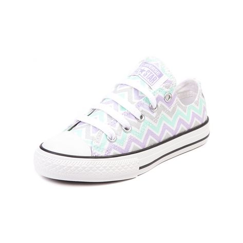 Shop for Youth Converse All Star Lo Chevron Sneaker in White Lavendar Mint at Journeys Kidz. Shop today for the hottest brands in mens shoes and womens shoes at JourneysKidz.com.Look to Chevron Cons for fresh spring vibes! Available only at Journeys Kidz, this exclusive edition low top Converse All Star Chevron features a gray, mint, and lavender chevron print canvas upper and classic All Star rubber outsole. Available exclusively at Journeys Kidz! Available for shipment in March; pre-order…
