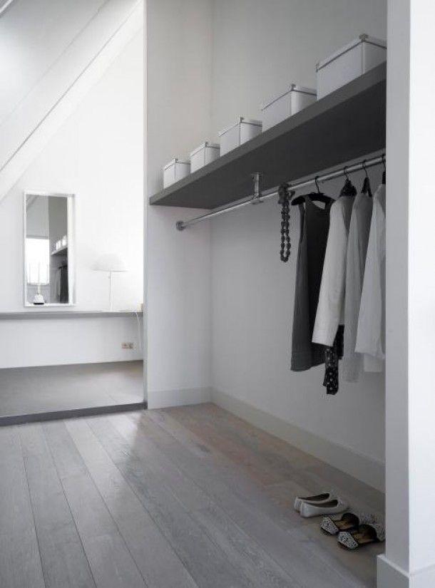 Interieurideeën | mooie garderobe ! Door Jeniieke