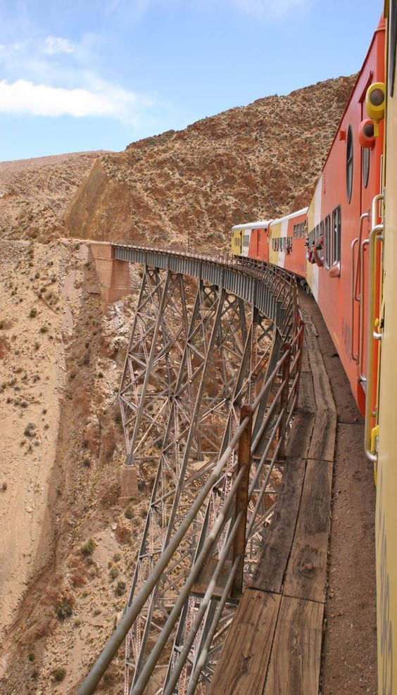 Tren a las nubes - Salta Province, Argentina http://es.pinterest.com/michelle0883/argentina/