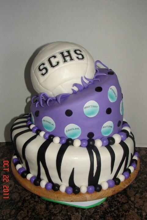 Best 25 Volleyball Cakes Ideas On Pinterest Volleyball