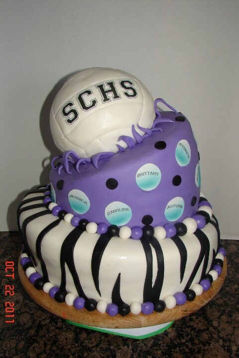 Epic Volleyball cake! love it cause everything that i like is on it !!!! :):):):):):):):):):):):)!!!!!!!!!!!!