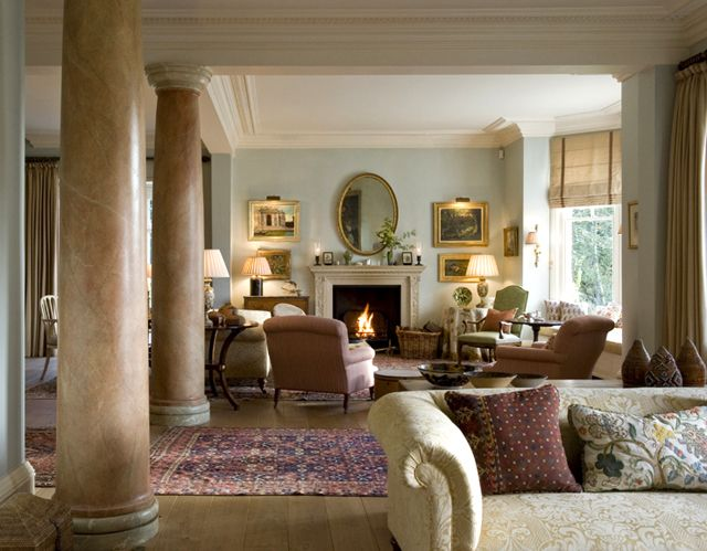 A Stately Formal Living Room By Designer Guy Goodfellow