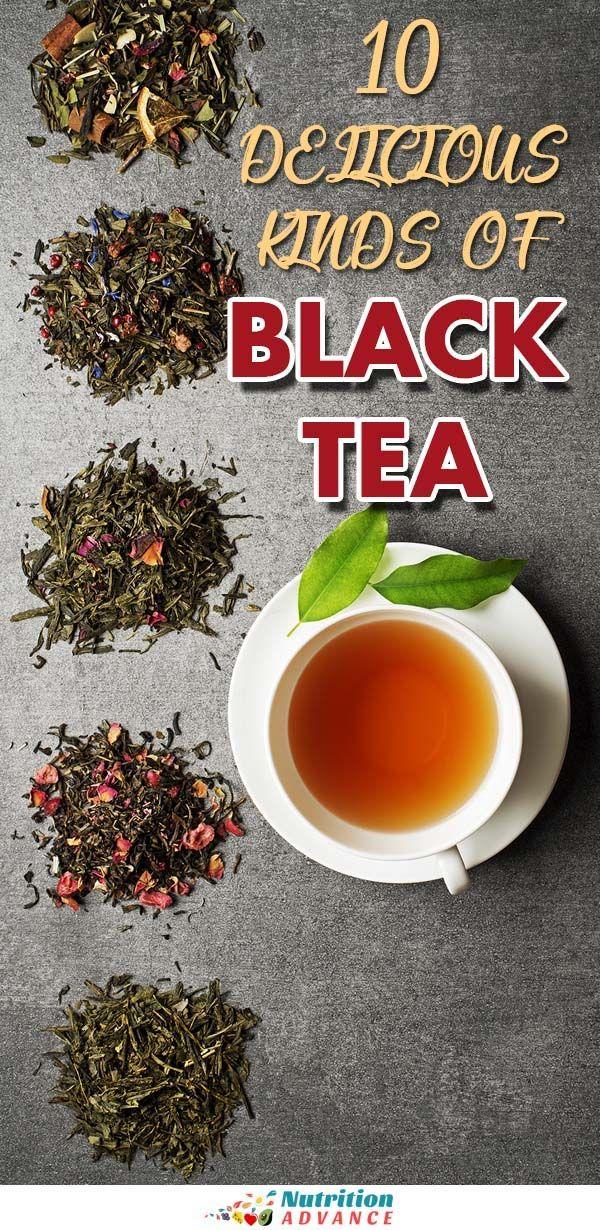 The 11 Best Types Of Black Tea Nutrition Infographics Pinterest