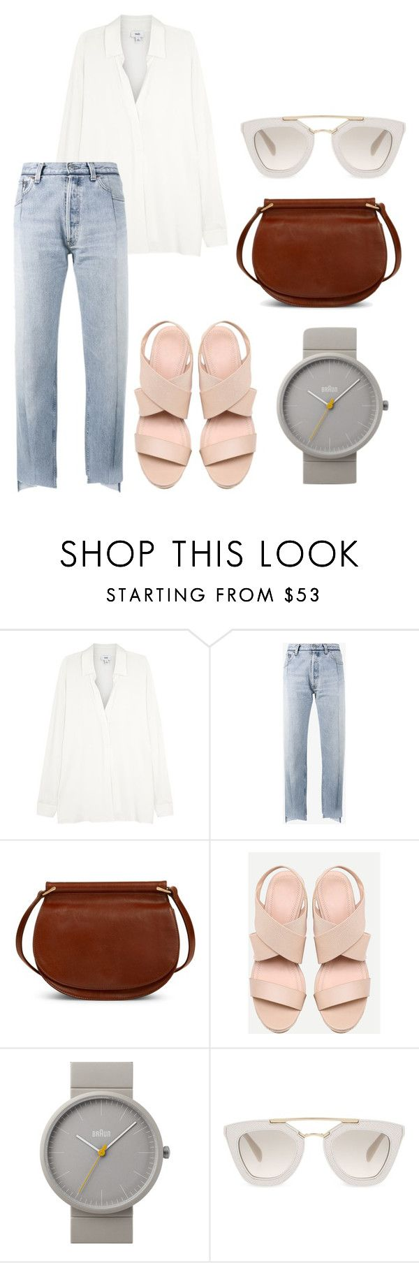 """Jealousy Incarnate Inspired Outfit #Kdrama"" by indirag on Polyvore featuring Vetements, Vera Bradley, Braun and Prada"