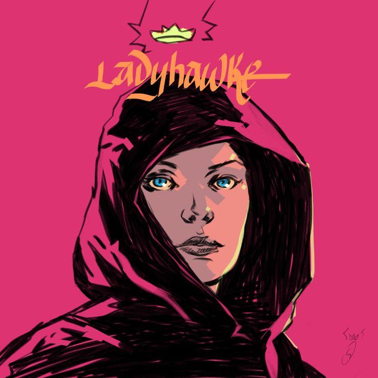 ArtStation - daily shindroodle ladyhawke, Fabio SHINDRA Danisi