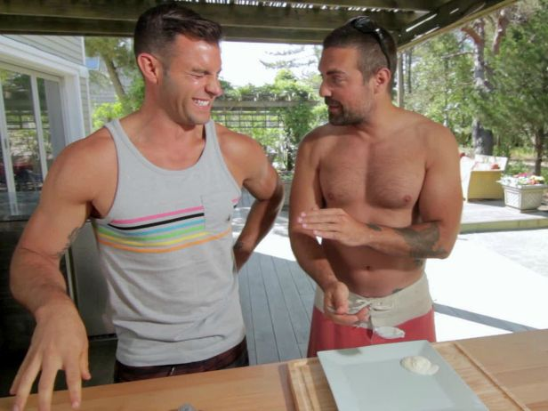 Creative Genius: The Kitchen Cousins Can Cook Too! Read our interview with John Colaneri and Anthony Carrino>> http://blog.diynetwork.com/maderemade/2014/08/05/creative-genius-the-kitchen-cousins-can-cook-too/?soc=pinterest