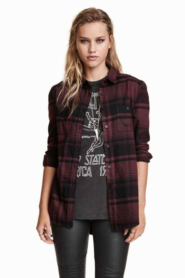 Chemise en flanelle à carreaux | H&M