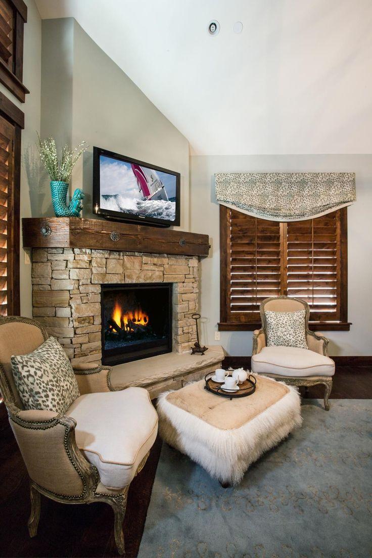 19 Cozy Corner Fireplace Design Ideas in