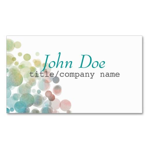 263 best business card templates artist designed images by ann abstract art business card template double sided flashek Images