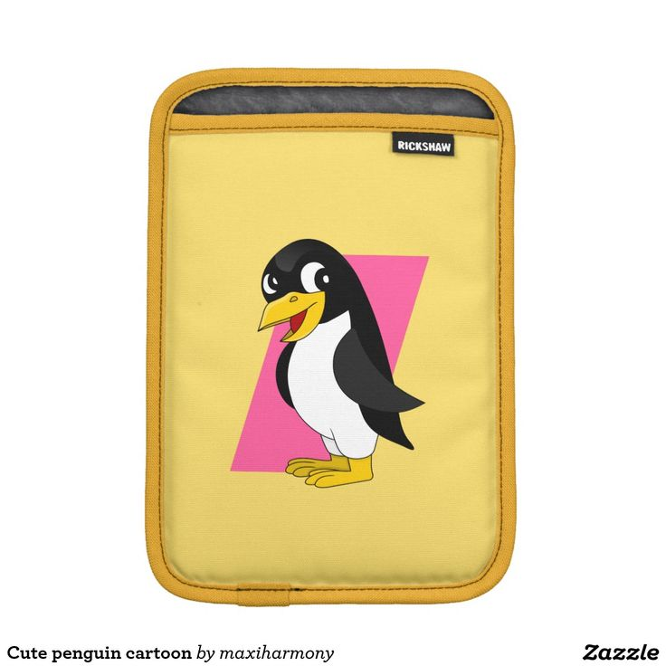 Cute penguin cartoon sleeve for iPad mini