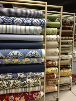 Photo of Milton Decorator Fabrics - Lodi, NJ, United States. Beautiful fabrics!