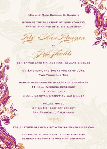 The 25+ best Indian wedding invitation wording ideas on Pinterest - marriage invitation mail format