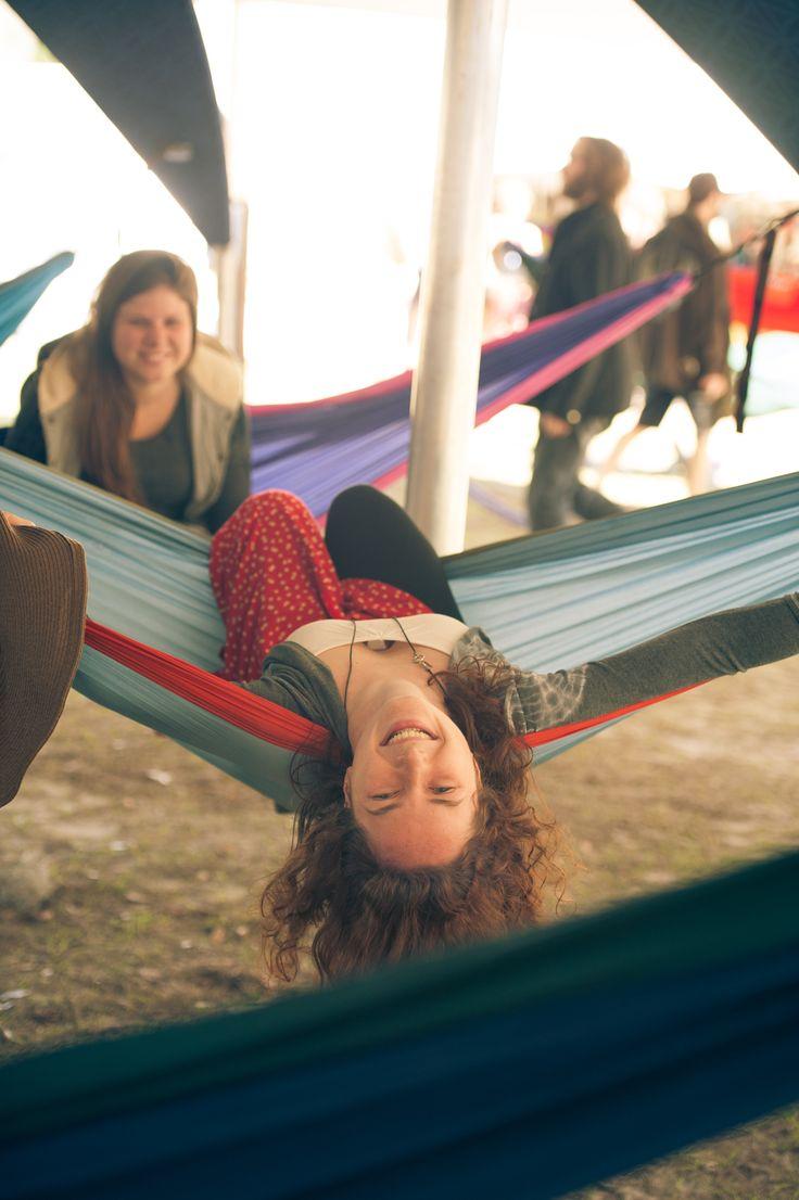 Happy hammocker at #AuraMusicFestival #FestivalLife