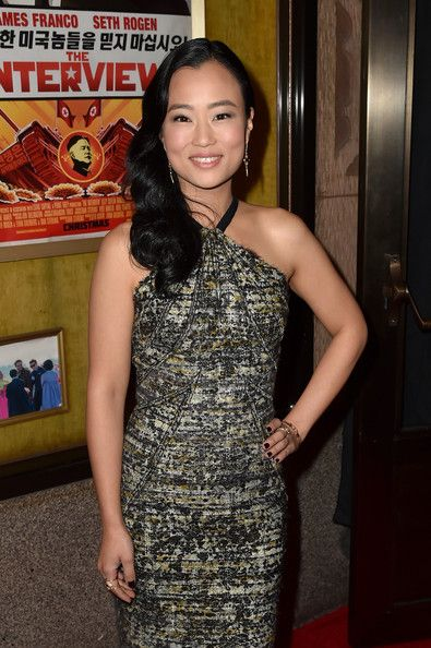 "Diana Bang Photos Photos - Actress Diana Bang attends the Premiere of Columbia Pictures' ""The Interview"" at The Theatre at Ace Hotel Downtown LA on December 11, 2014 in Los Angeles, California. - Premiere Of Columbia Pictures' ""The Interview"" - Red Carpet"
