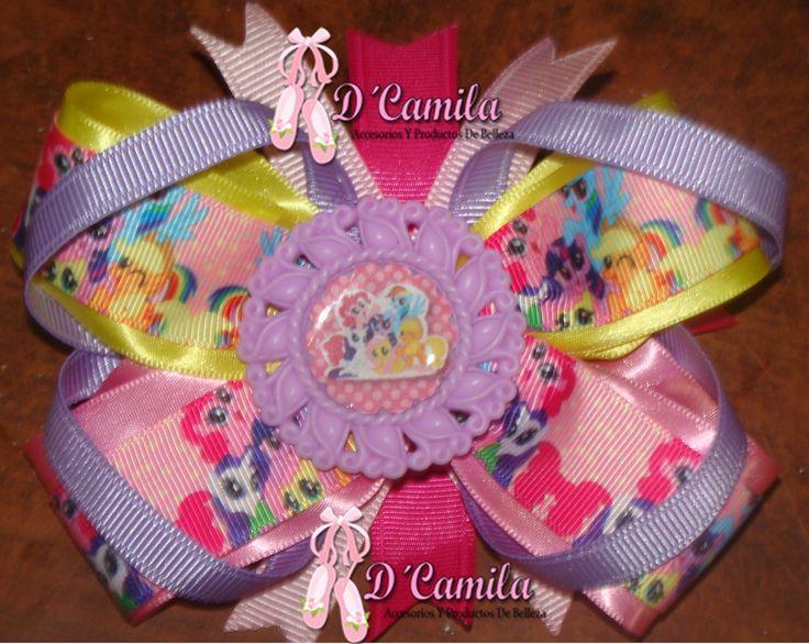 My little pony bow  Moño Mi pequeño pony