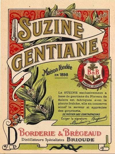 Blog de auvergnebassinauzonbrassac :Auvergne a travers les temps, Pub gentiane: