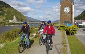 West Coast Wilderness Trail Officially Opened. Photo copyright: NZ Cycle Trail.
