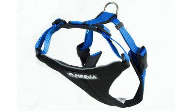 Het Running harnas is een H-type harnas in polypropyleen, ontworpen om met je hond te rennen. Dit harnas heeft voering op de delen waar druk op staat tijdens het rennen.  Het harnas is verstelbaar bij de halsomvang en om de ribbenkast, waardoor het af te stellen is op (vrijwel) alle honden!   Het harnas is gemaakt van ademend, hypo-allergeen materiaal en comfortabel voor uw hond. Een ideaal harnas voor hiking, canicross, fietsen en steppen (ernaast) maar ook voor de dagelijkse wandeling!