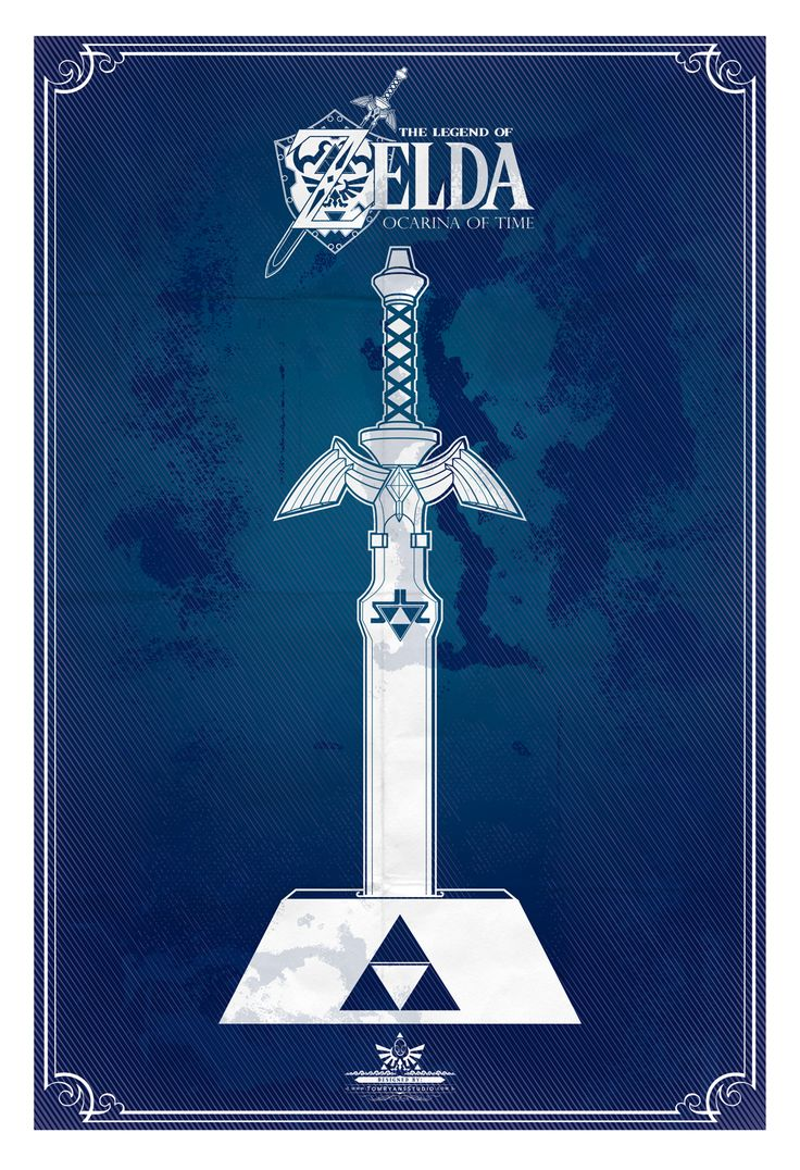 The Legend of Zelda Poster Series- Created by Tom RyanAvailable for sale as prints at his Society6 orEtsy Shop.You can also find Tom onTumblrandTwitter!