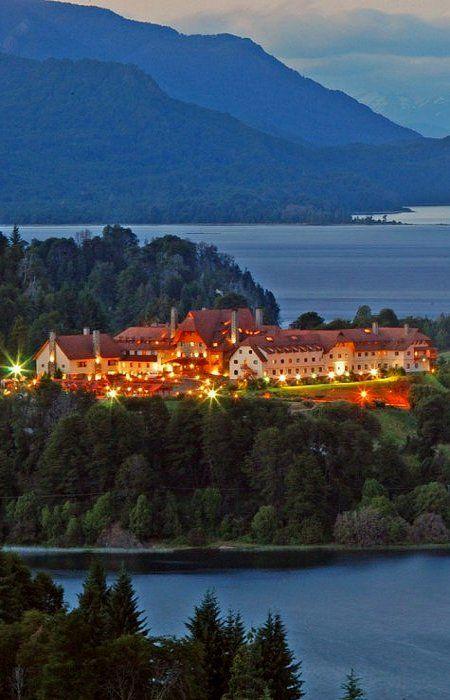 San Carlos de Bariloche, Argentina. Hotel LLao-LLao