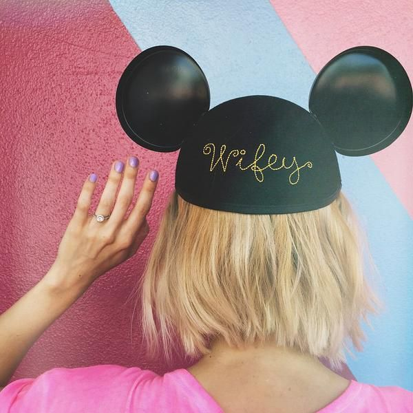 "This Disney ""wifey"" engagement announcement had us at hello"