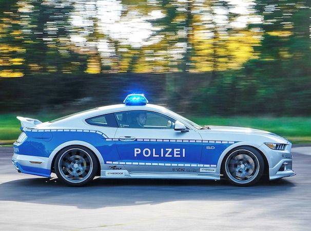 But it won't be chasing speeders on the Autobahn.