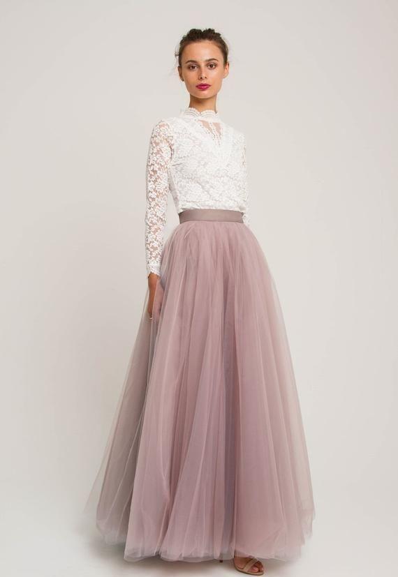Bridesmaids Rehearsal Dinner Engagement Party Wedding Women/'s Tutu Skirts Knee Length Tulle Tutu Skirt Tulle Skirts