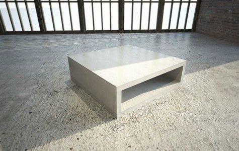 Ber ideen zu couchtisch 80x80 auf pinterest wolf - Couchtisch beton holz ...