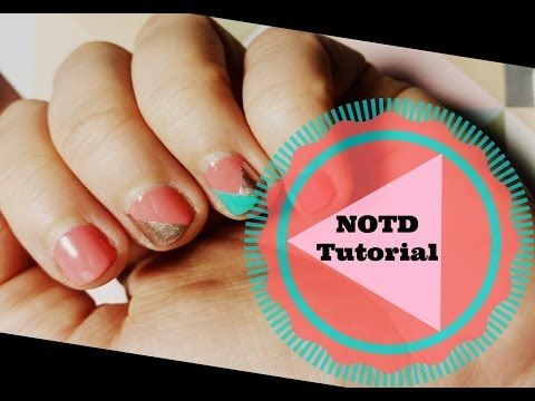 Diagonales #NOTD - Tutorial #WoodysLackierstunde - YouTube