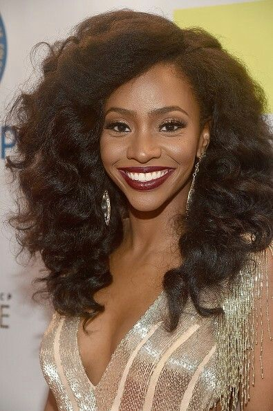 37 Wedding Hairstyles For Black Women To Drool Over 2017: 234 Best Teyonah Parris Images On Pinterest