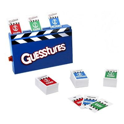 Guesstures Charades Game, Board Games