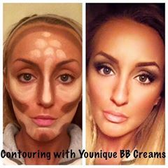 "Look how easy to ""Hightlight"" and ""Contour"" with #Younique!! Get that Flawless, Movie Star look everyday! https://www.facebook.com/Lisasyouniqueshoppe?fref=ts&ref=br_tf"