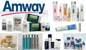 Here Amway products are available.