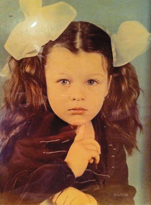 Милла Йовович, 70–e, детский сад, г. Днепропетровск, СССР — Фотографии из прошлого