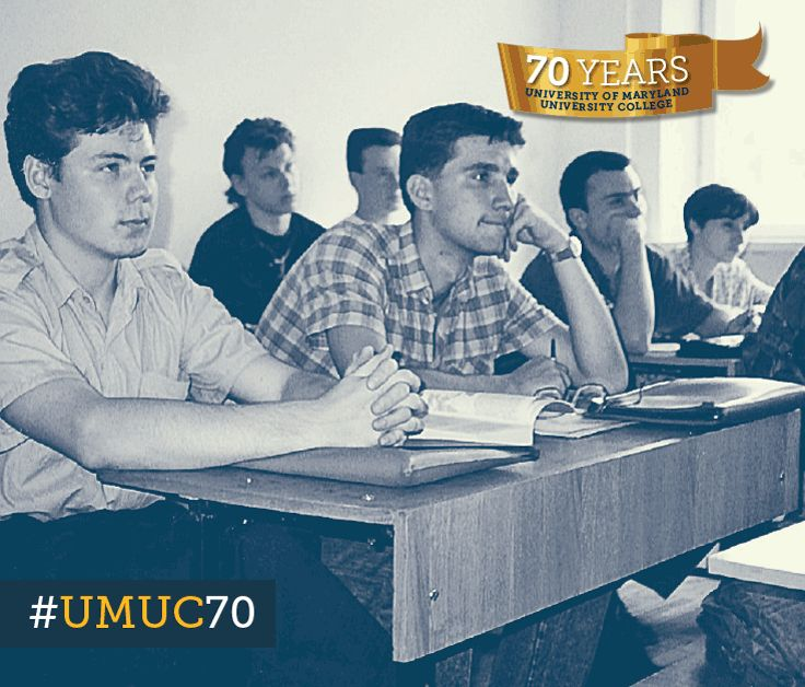 In today's #ThrowbackThursday, we take you back to 1993 Russian students attending UMUC class in Vladivostok. #umuc70
