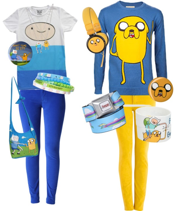 """Adventure Time Buddies"" by taylorgarcia on Polyvore"
