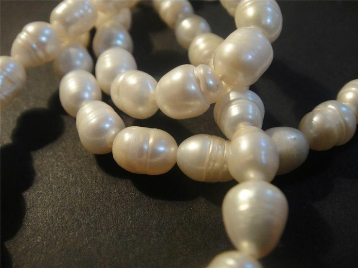 Freshwater #PEARL #necklace stunning strung lustre 45cm quality evening day wear Expires 07 May, 2014