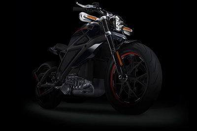 This is Harley-Davidson's first electric motorcycle