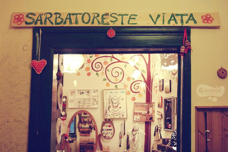 Oranjerie, handmade gallery str. Vasile Goldis nr1 Cluj-Napoca Romania