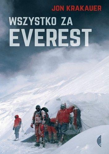 """Kiedy 10 maja 1996 roku trzy ekipy jednocześnie dokonywały ataku szczytowego, nad Mount Everestem zerwała się burza. Zaczęła się mordercza walka o przetrwanie. Jon Krakauer przeżył. Książka """"Wszystko..."""