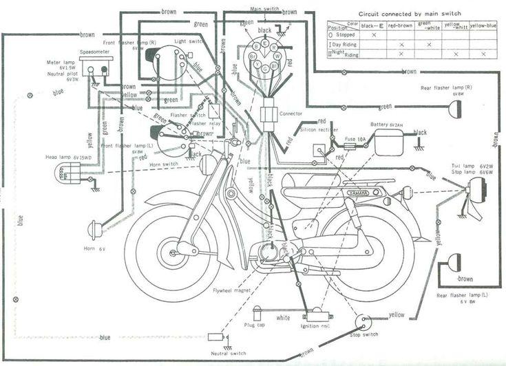 10  Yamaha V50 Motorcycle Wiring Diagram -