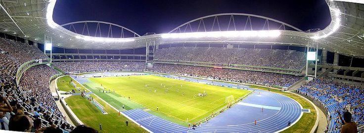 Engenhão, Estádio do Botafogo, no Rio de Janeiro.