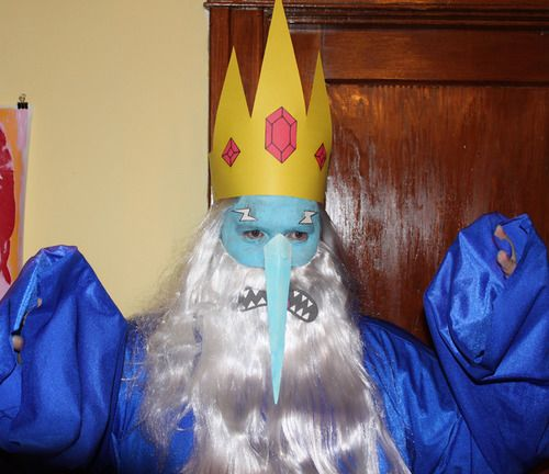 adventure time ice king homemade costumes | Ice King Adventure Time Costume