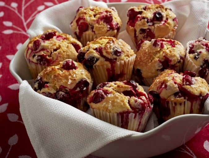 Delicious Cranberry Muffins   Baking   Pinterest ...